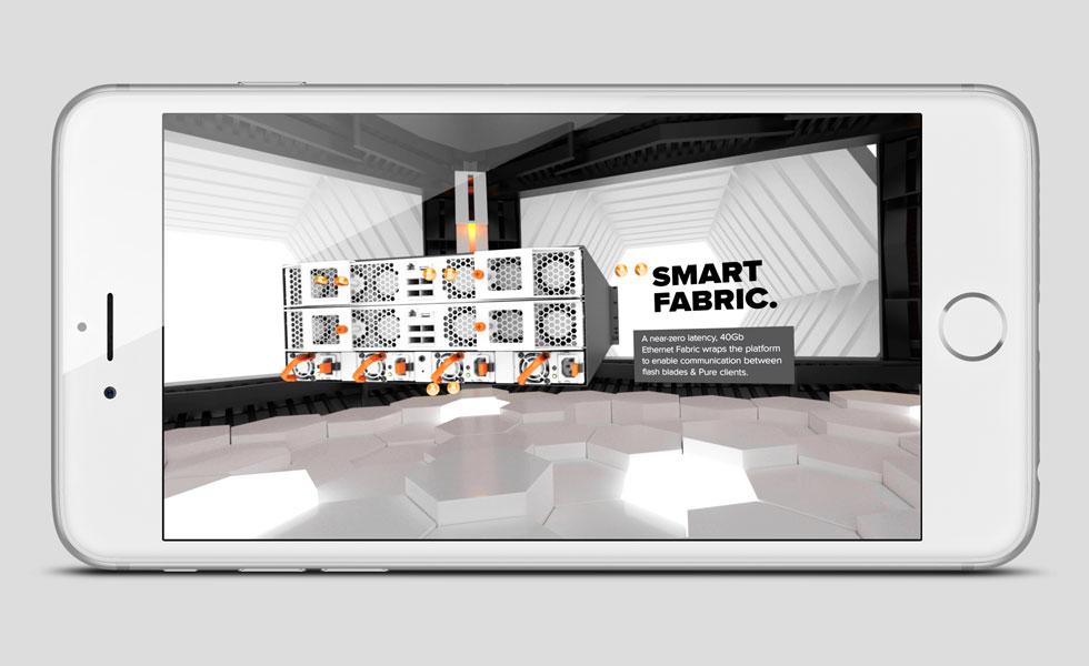 Pure Storage VR - Google Cardboard