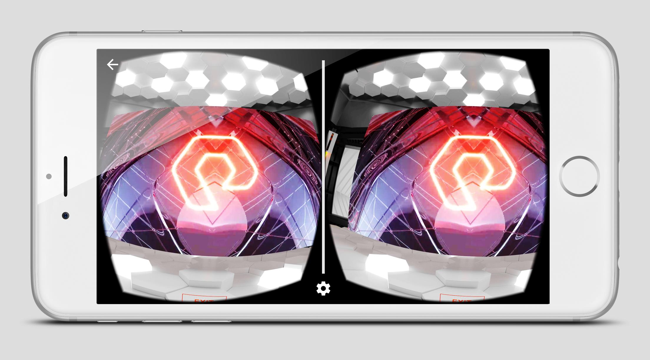 VR Mobile App Google Cardboard