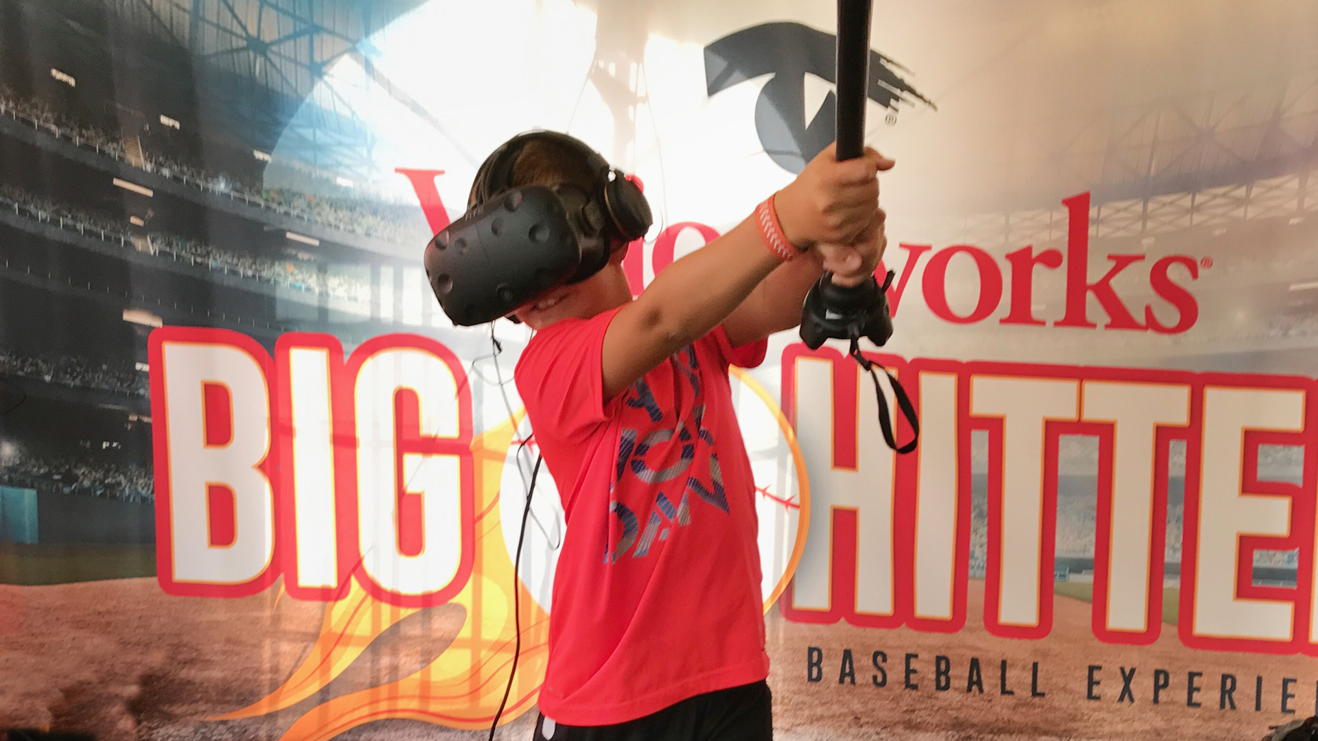 HTC Vive VR Game @ Little League World Series Fan Activation by Groove Jones