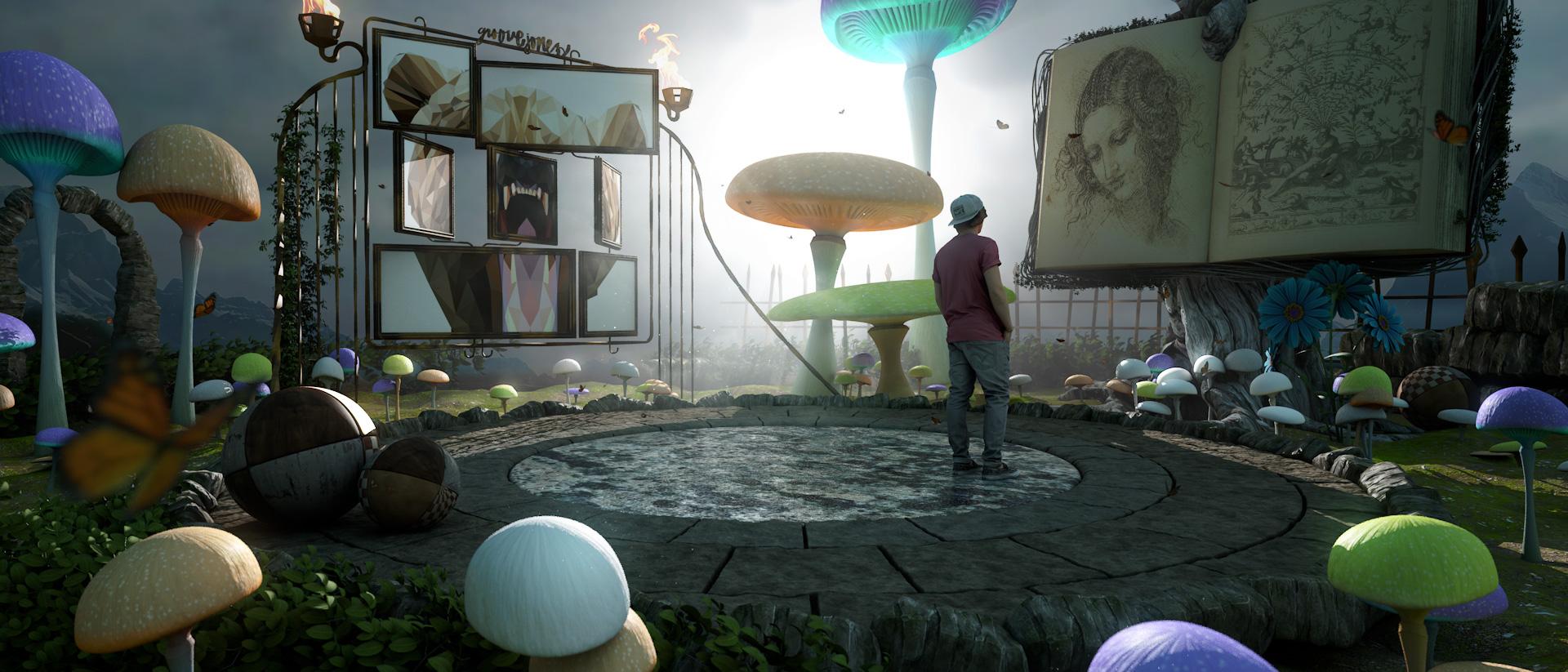 Groove Jones and Dallas' Aurora Event - Arcade Artist VR