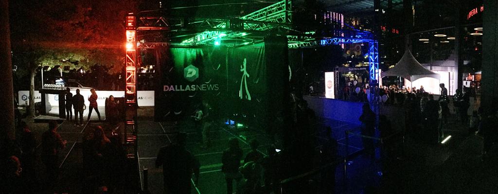 Groove Jones and Dallas' Aurora Event