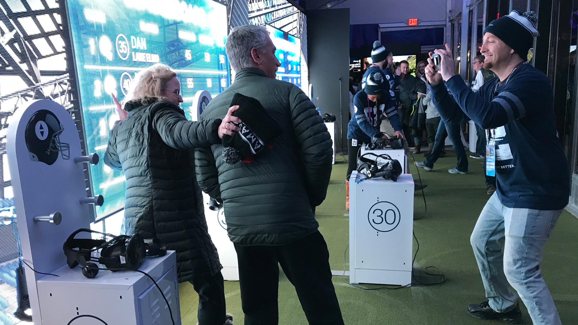football Sport VR Experiential marketing