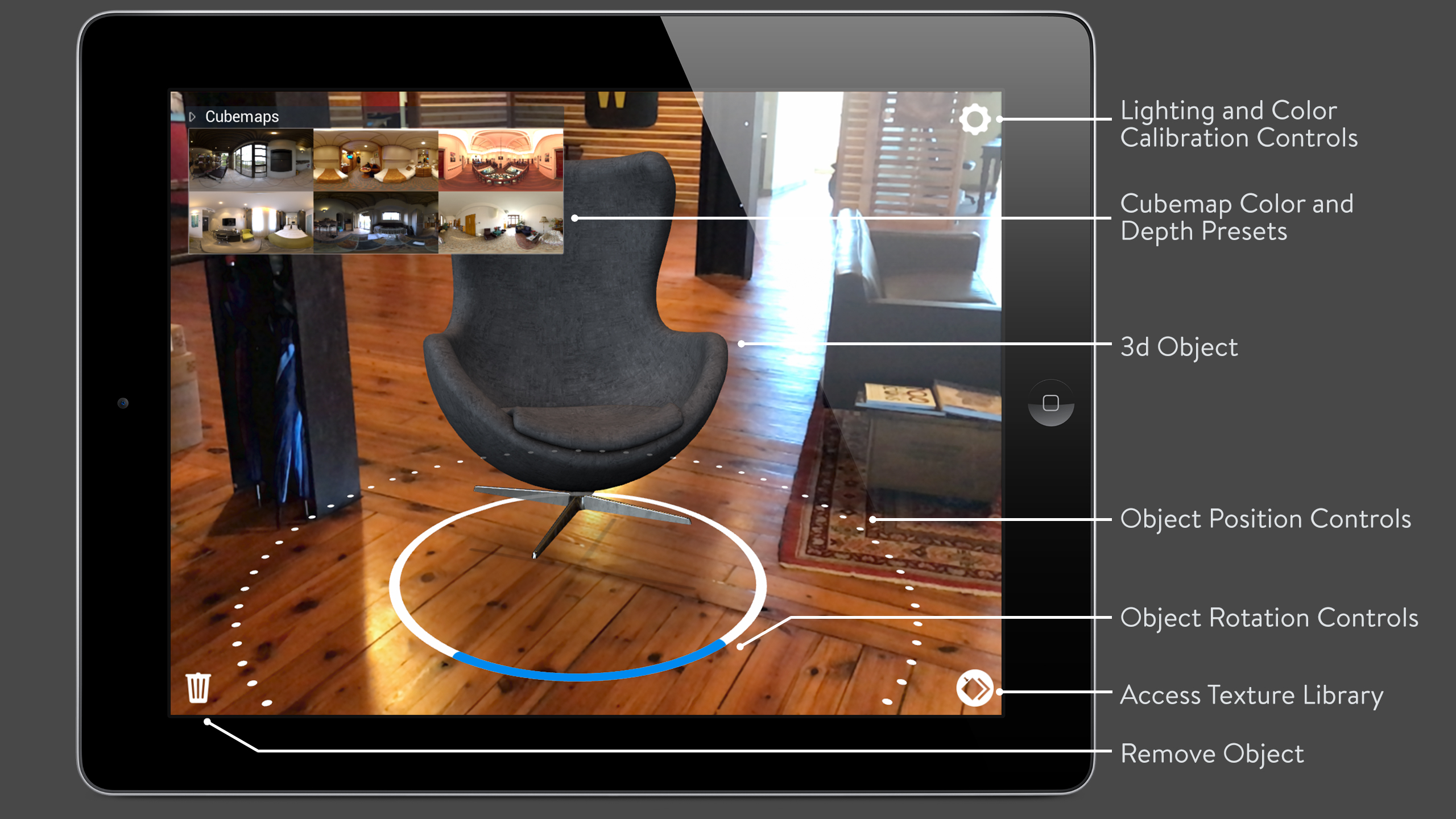 Ar Augmented Reality Object Toolkit For Shopping And Merchandising