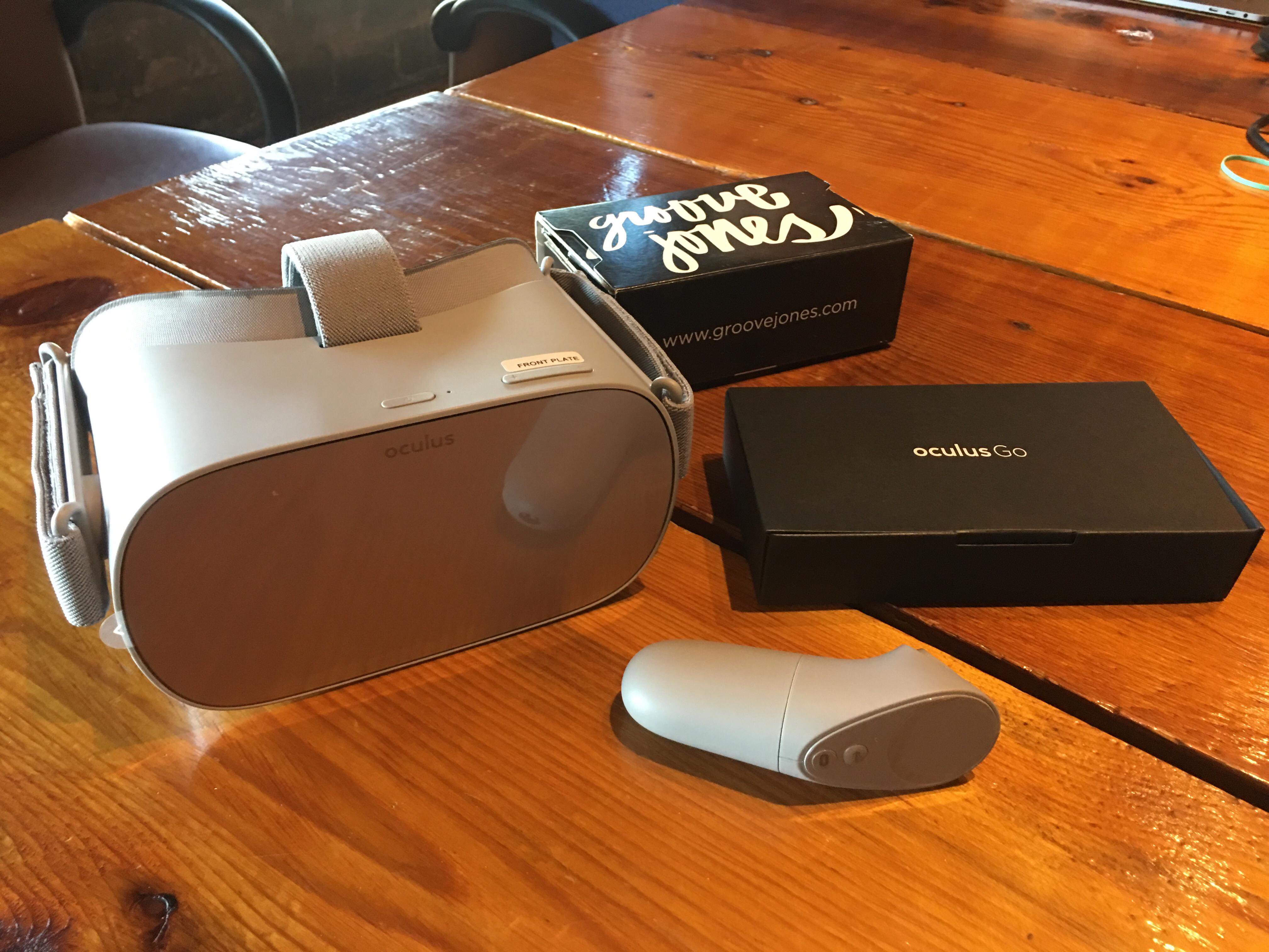 Groove Jones Oculus Go