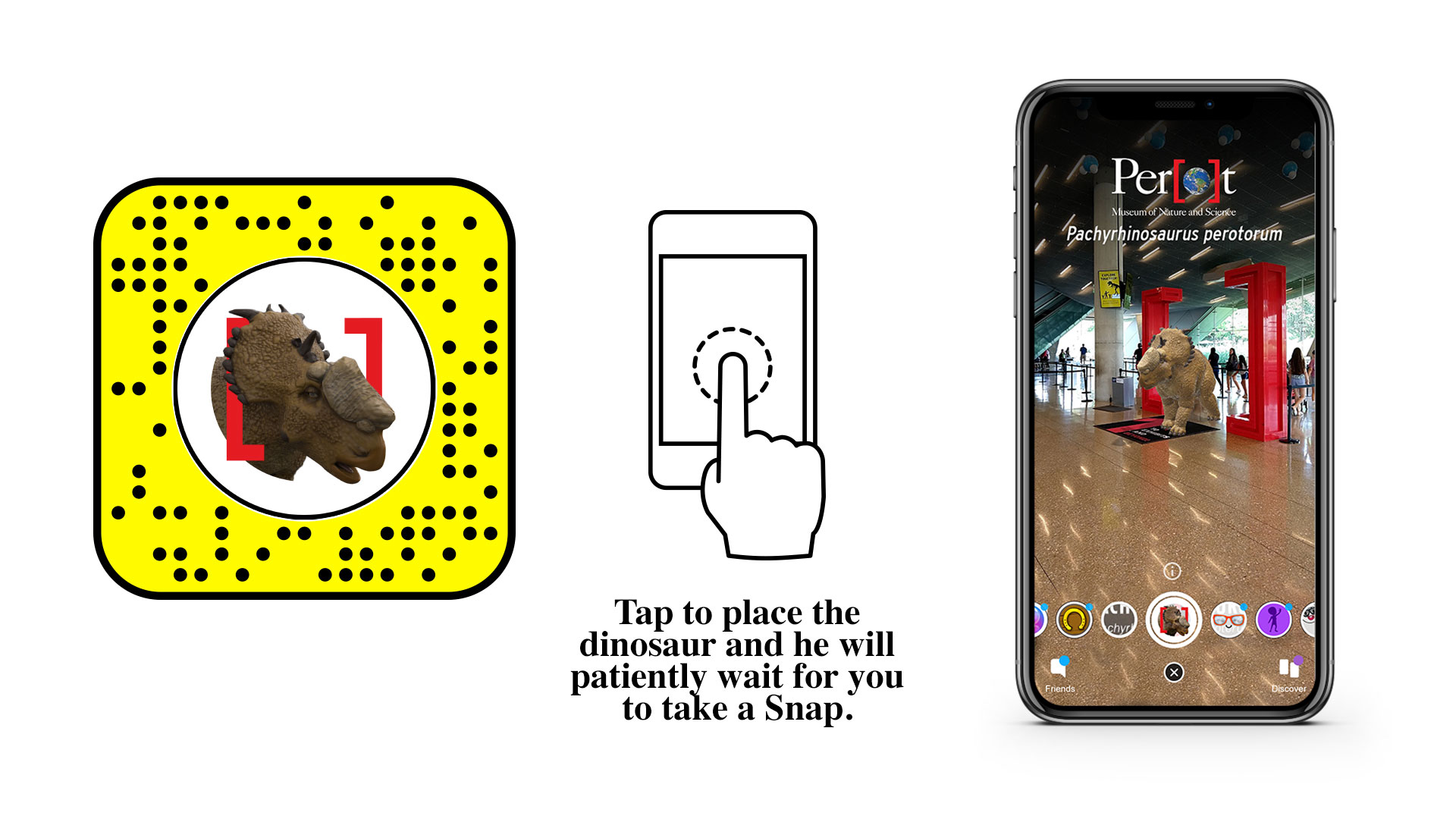 Snapchat AR Lens Interactions infographic