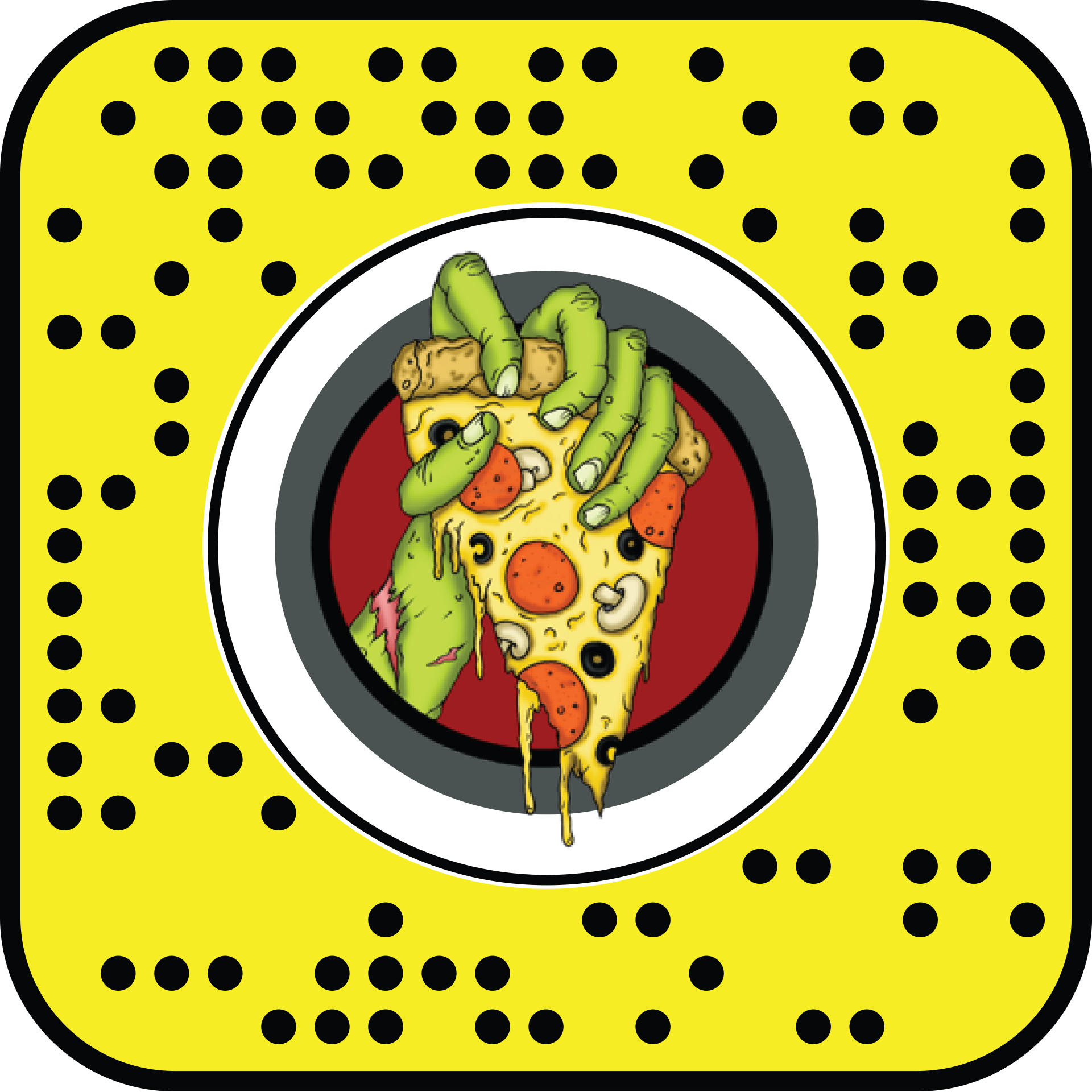 Zombie Bob's Pizza - AR Snapchat Lens and Facebook Filter