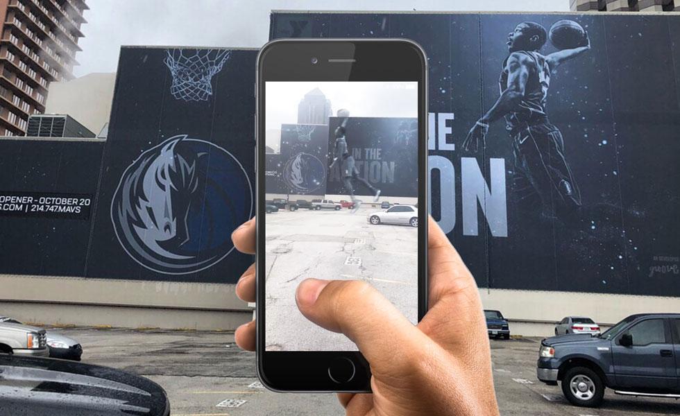 Dallas Mavericks Augmented Reality