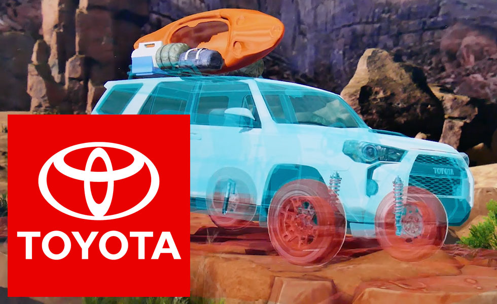 Toyota AR Augmented Reality