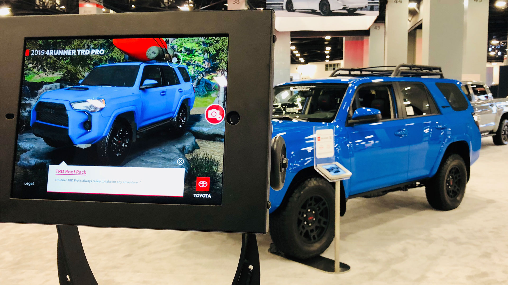 Toyota Trd Pro Augmented Reality Experience Debuts At Auto Shows
