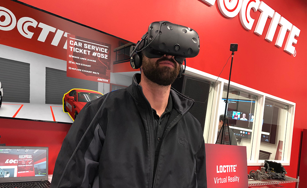 Henkel Automobile VR Training