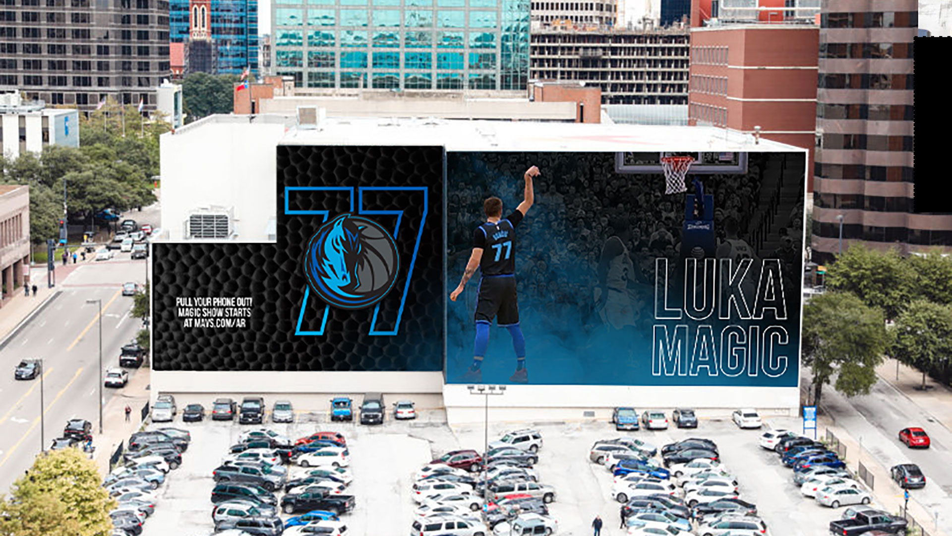 Luka Mavs AR Augmented Reality Dallas Mavericks