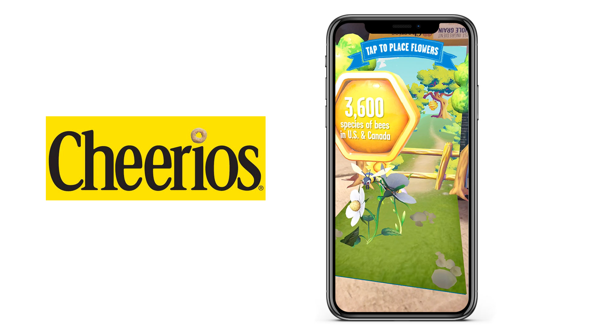 Cheerios Augmented reality