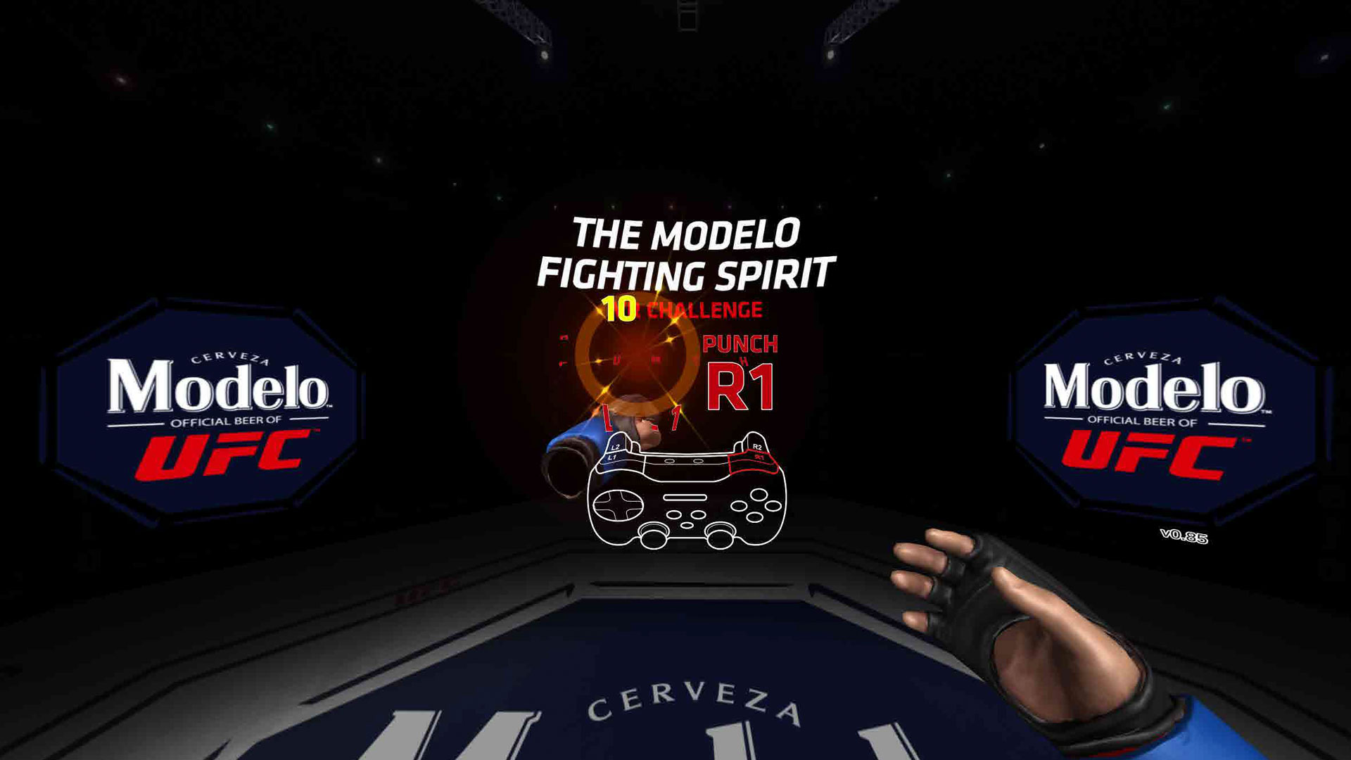 Modelo and UFC Fans Celebrate the Fighting Spirit with VR