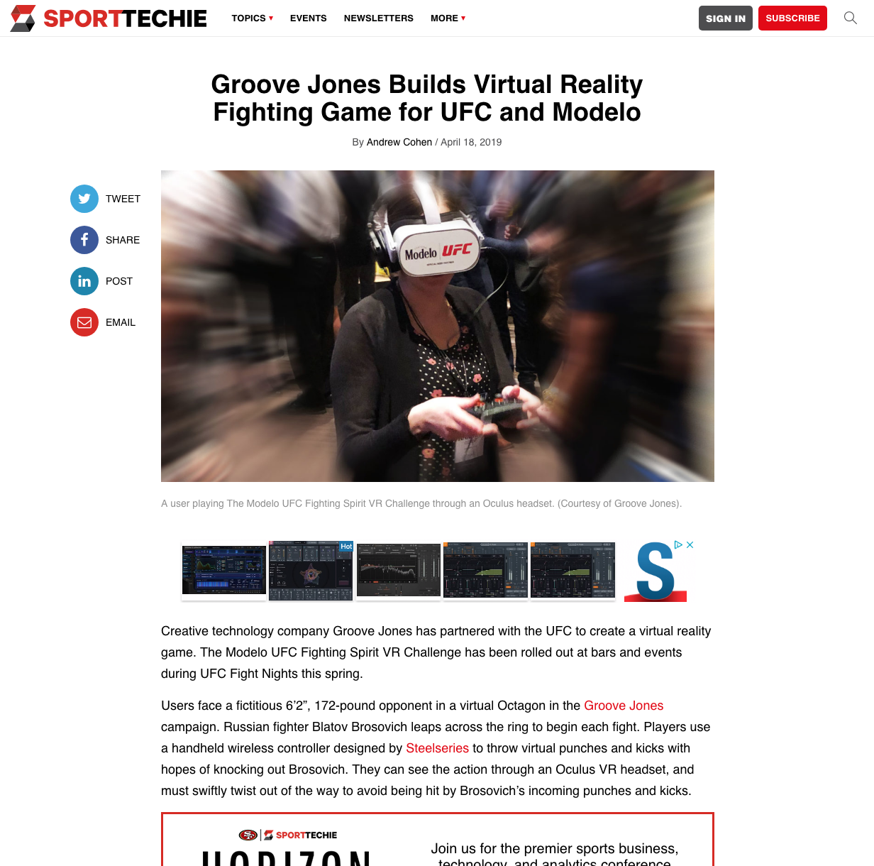 68f2080592a Groove Jones Builds Virtual Reality Fighting Game for UFC and Modelo
