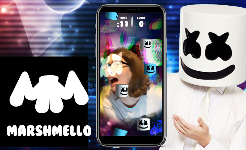 marshmello instagram game