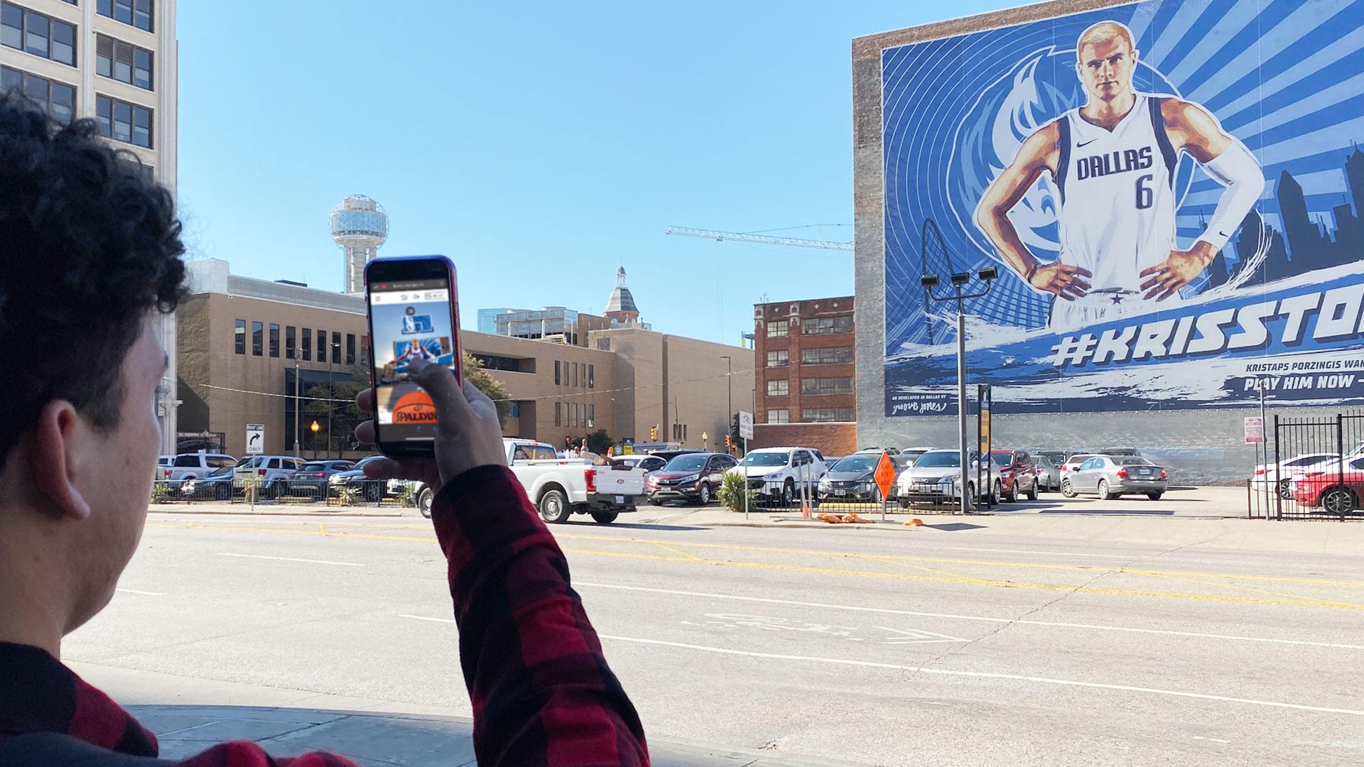 Dallas Mavs Augmented Reality