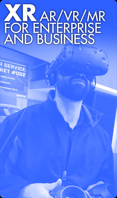 <u>XR - AR/VR/MR for Enterprise and Business</u>